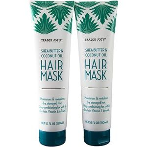 2 Trader Joes Shea Butter & Coconut Oil Hair Mask